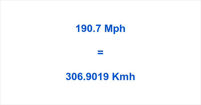 190 7 mph to kmh 190 7 miles per hour to kilometers per hour mph to kmh